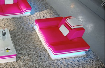 Sessel ROUGE mit LED Beleuchtung & USB Anschluss von NATIVO™ Designer Möbel Österreich