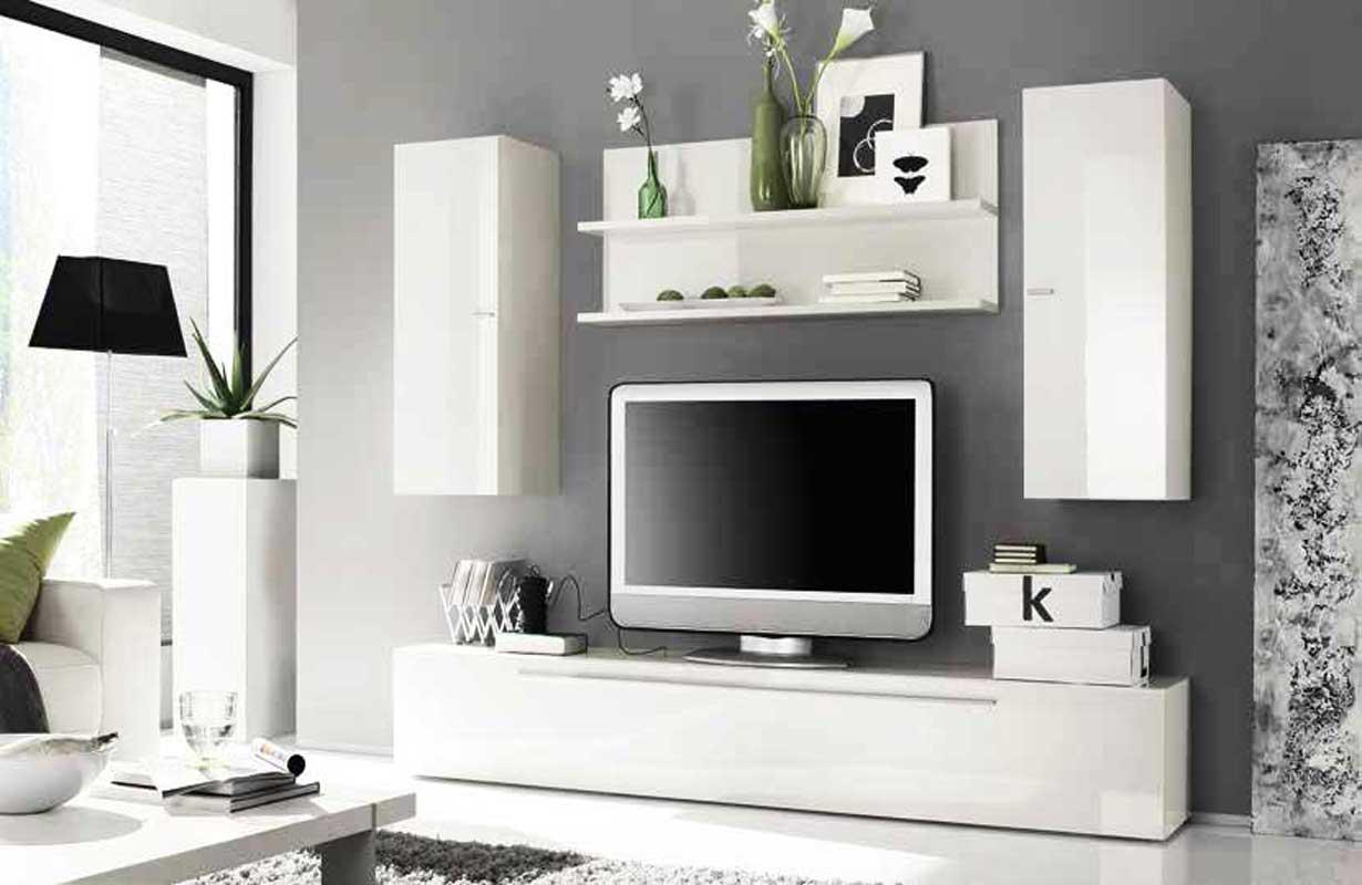 designer wohnwand bari - Stylische Wohnwand