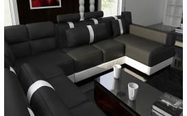 Designer Sofa ATLAS inkl. Hocker ab lager