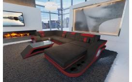 Designer Sofa HERMES XL mit LED Beleuchtung und Schlaffunktion von NATIVO™ Designer Möbel Österreich