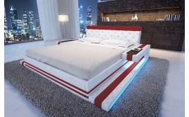 Designer Lederbett IMPERIAL inkl. LED Beleuchtung Ab lager von NATIVO™ Möbel Österreich