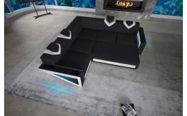 Designer Sofa FALCO CORNER mit LED Beleuchtung & USB Anschluss von NATIVO™ Möbel Österreich