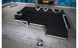Designer Sofa FALCO XL mit LED Beleuchtung & USB Anschluss von NATIVO™ Möbel Österreich