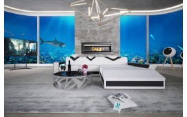 Designer Sofa FALCO MINI mit LED Beleuchtung & USB Anschluss von NATIVO™ Designer Möbel Österreich