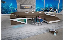 Designer Sofa FALCO XL mit LED Beleuchtung & USB Anschluss von NATIVO™ Designer Möbel Österreich