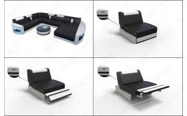 3 Sitzer Sofa ATLANTIS mit LED Beleuchtung von NATIVO™ Möbel Österreich