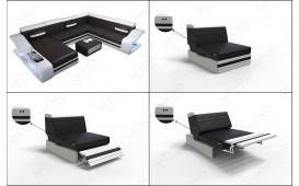 Designer Sofa MIRAGE 3+2+1 mit LED Beleuchtung von NATIVO™ Möbel Österreich