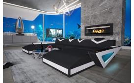 Designer Sofa FALCO XXL DUO mit LED Beleuchtung & USB Anschluss von NATIVO™ Designer Möbel Österreich