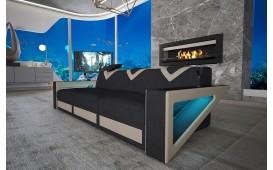 3 Sitzer Sofa FALCO mit LED Beleuchtung & USB Anschluss von NATIVO™ Designer Möbel Österreich
