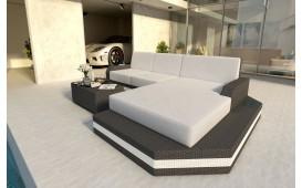 Designer Rattan Lounge Sofa MESIA MINI V2 Ab lager von NATIVO™ Möbel Österreich
