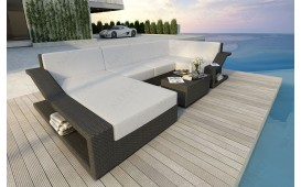 Designer Rattan Lounge Sofa MIRAGE XL NATIVO™ Möbel Österreich