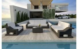 Designer Rattan Lounge Set MIRAGE 3+2+1 NATIVO™ Möbel Österreich