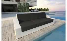 Designer Rattan Lounge Sofa MIRAGE 3 Sitzer NATIVO™ Möbel Österreich