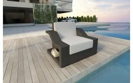 Designer Rattan Lounge Sofa MIRAGE 1 Sitzer NATIVO™ Möbel Österreich