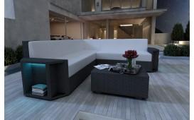 Designer Rattan Lounge Sofa AVENTADOR CORNER NATIVO™ Möbel Österreich