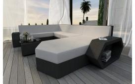 Designer Rattan Lounge Sofa CLERMONT XXL NATIVO™ Möbel Österreich