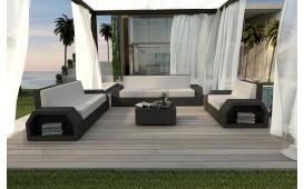 Designer Rattan Lounge Set CLERMONT 3+2+1 NATIVO™ Möbel Österreich