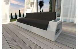 Designer Rattan Lounge Sofa CLERMONT 3 Sitzer NATIVO™ Möbel Österreich