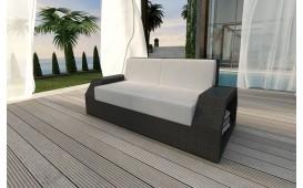 Designer Rattan Lounge Sofa CLERMONT 2 Sitzer NATIVO™ Möbel Österreich