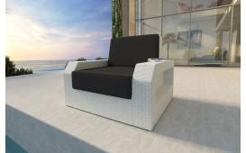 Designer Rattan Lounge Sofa MESIA 1 Sitzer NATIVO™ Möbel Österreich