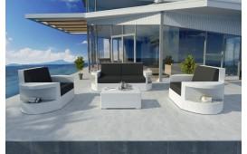 Designer Rattan Lounge Set ATLANTIS 2+1+1 NATIVO™ Möbel Österreich