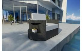 Designer Rattan Lounge Sofa ATLANTIS 1 Sitzer NATIVO™ Möbel Österreich