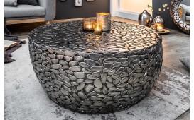 Designer Couchtisch BLOCK SILVER 85 cm von NATIVO™ Designer Möbel Österreich