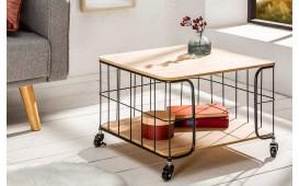Designer Couchtisch CAGE BLACK OAK ROLL von NATIVO™ Designer Möbel Österreich