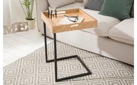 Designer Beistelltisch CIARO BLACK OAK von NATIVO™ Designer Möbel Österreich
