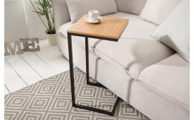 Designer Beistelltisch SIMPO 60 cm BLACK OAK von NATIVO™ Designer Möbel Österreich