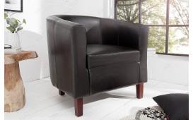Designer Lounge Sessel ERNEST DARK BROWN von NATIVO™ Designer Möbel Österreich