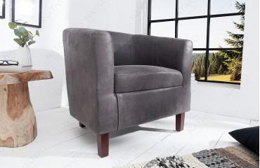 Designer Lounge Sessel ERNEST GREY von NATIVO™ Designer Möbel Österreich