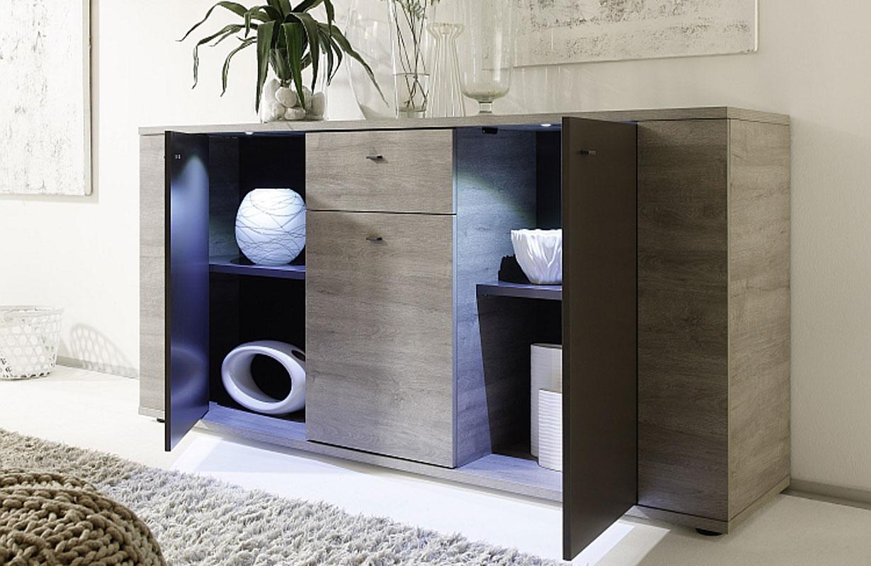 designer kommode donna mit led beleuchtung nativo wien moebel. Black Bedroom Furniture Sets. Home Design Ideas