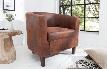 Designer Lounge Sessel ERNEST LIGHT BROWN von NATIVO™ Designer Möbel Österreich