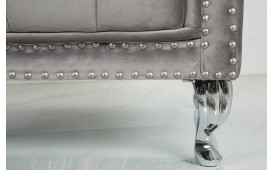 Designer Relaxsessel ROYALS SILVER GREY von NATIVO™ Designer Möbel Österreich