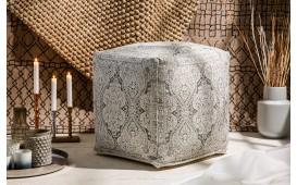 Designer Sitzhocker BOHO ORIENTAL GREY 52 cm von NATIVO™ Designer Möbel Österreich