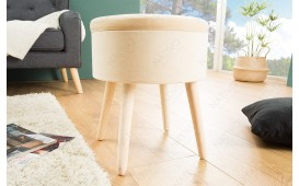 Designer Sitzhocker CAPABLE BEIGE von NATIVO™ Designer Möbel Österreich