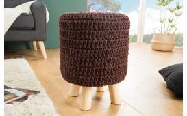 Designer Sitzhocker LEED DARK COFFEE I von NATIVO™ Designer Möbel Österreich