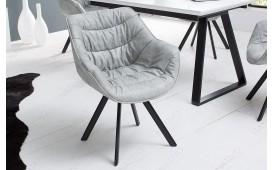 2 x Designer Stuhl WADE GREY