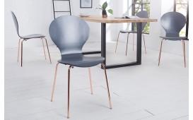 Designer Stuhl MODULO ANTRAZIT COPPER von NATIVO™ Designer Möbel Österreich