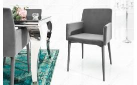 Designer Stuhl TORINO GREY MIT ARMLEHNE von NATIVO™ Designer Möbel Österreich
