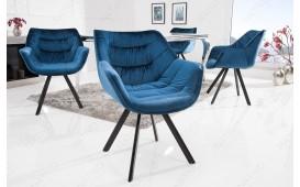 2 x Designer Stuhl SOLACE BLUE