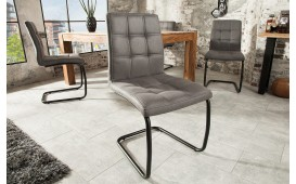 4 x Designer Stuhl LIVORNO DARK GREY