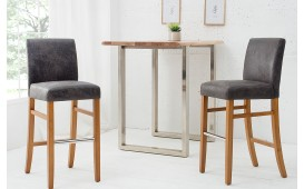 Designer Barhocker ROSSI GREY von NATIVO™ Designer Möbel Österreich