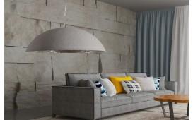 Designer Hängeleuchte WOK L GREY 50 cm von NATIVO™ Designer Möbel Österreich
