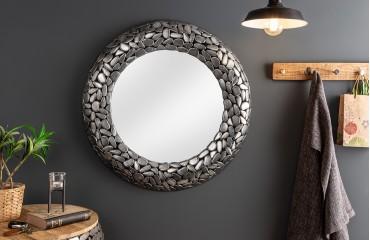 Designer Spiegel BLOCK SILVER 82 cm von NATIVO™ Designer Möbel Österreich