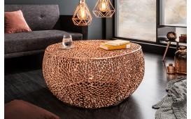Designer Couchtisch POCAHONTAS COPPER 80 cm
