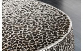 Designer Couchtisch POCAHONTAS SILVER 80 cm NATIVO™ Möbel Österreich