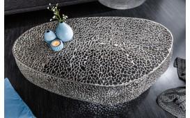 Designer Couchtisch POCAHONTAS SILVER 122 cm NATIVO™ Möbel Österreich