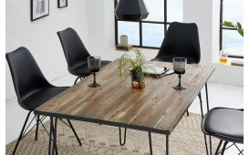 Designer Esstisch RENO BROWN 120 cm von NATIVO™ Designer Möbel Österreich